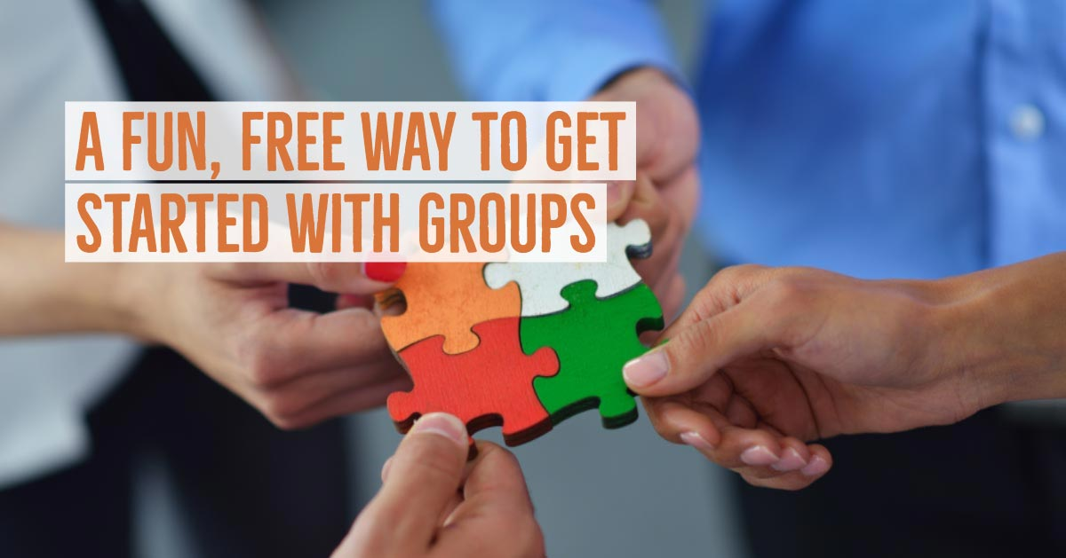 A Fun, Free Way to Get Started with Groups