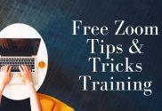 Free Zoom Tips & Tricks Training
